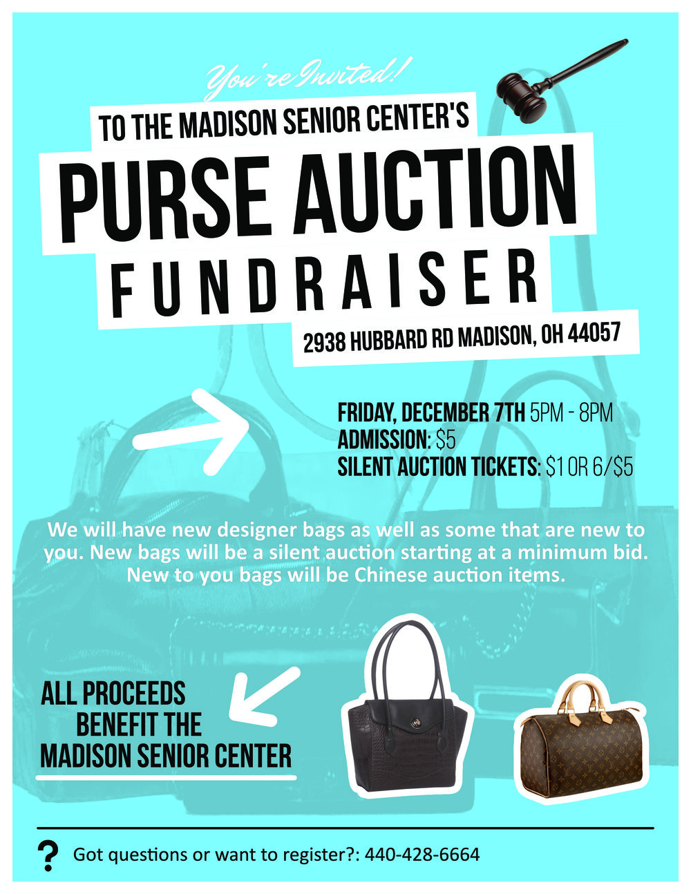 Madison Senior Center Purse Auction.jpg