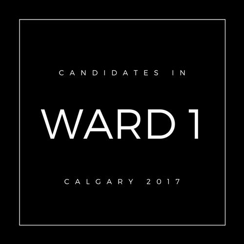 Calgary Council Candidates Ward 1