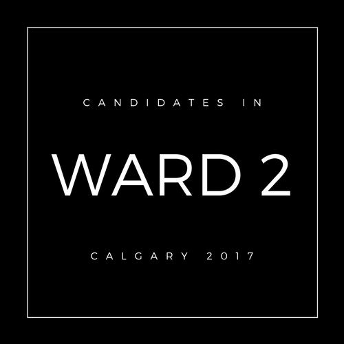 Calgary Council Candidates Ward 2