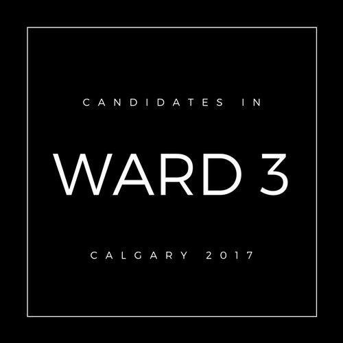 Calgary Council Candidates Ward 3