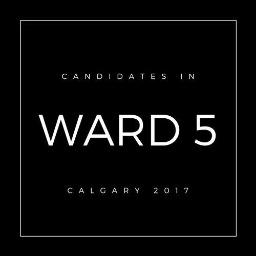Calgary Council Candidates Ward 5