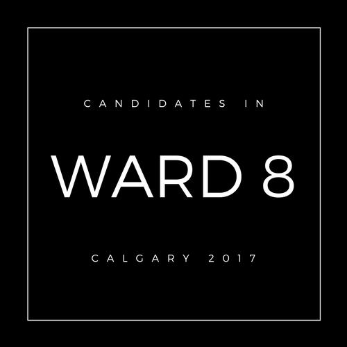 Calgary Council Candidates Ward 8