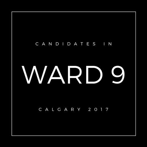 Calgary Council Candidates Ward 9