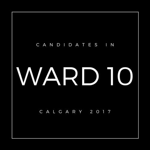 Calgary Council Candidates Ward 10