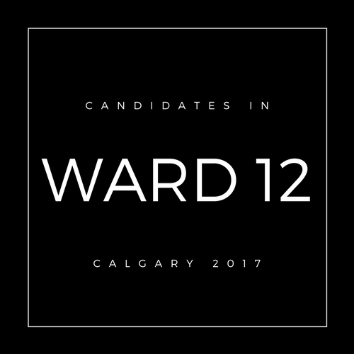 Calgary Council Candidates Ward 12
