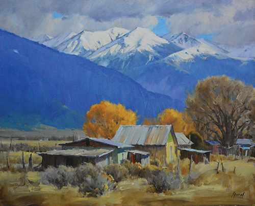 Chris Morel - Oil landscape paintings5330 Highway 518, Vadito | 575.737.1042info@morelart.comwww.morelart.com