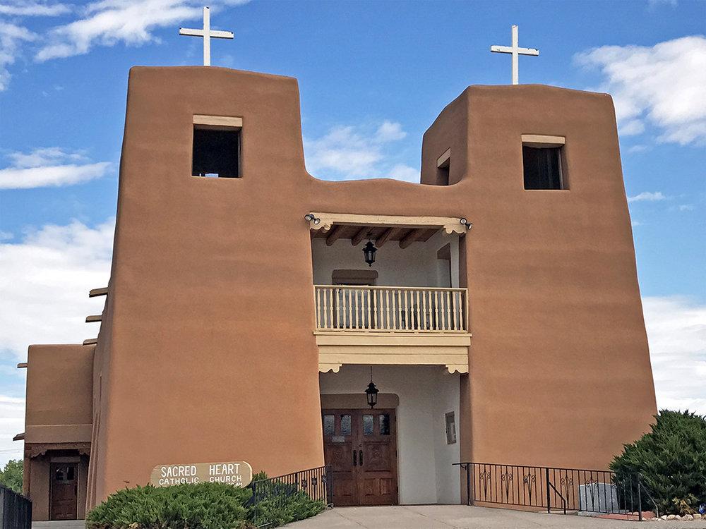 Sacred Heart Church – Nambe, NM