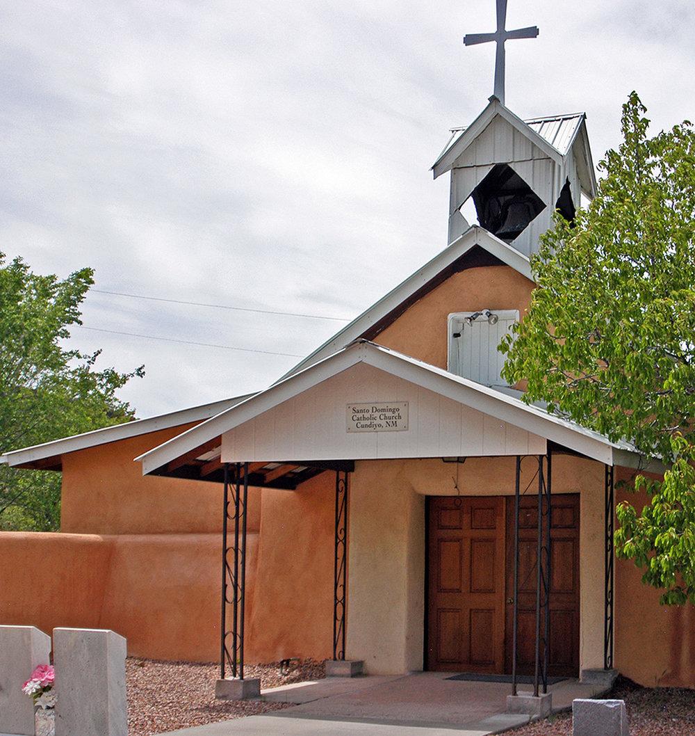 Santo Domingo Catholic Church – Cundiyó, NM