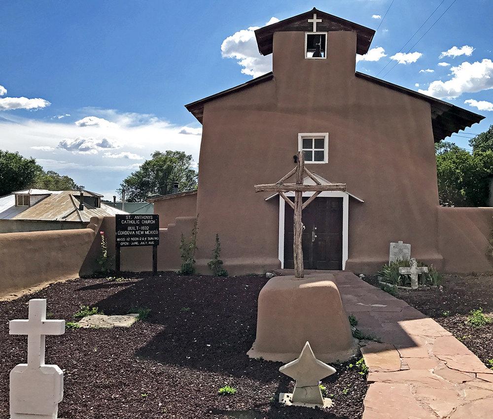 St. Anthony's Church 1832 – Cordova, NM