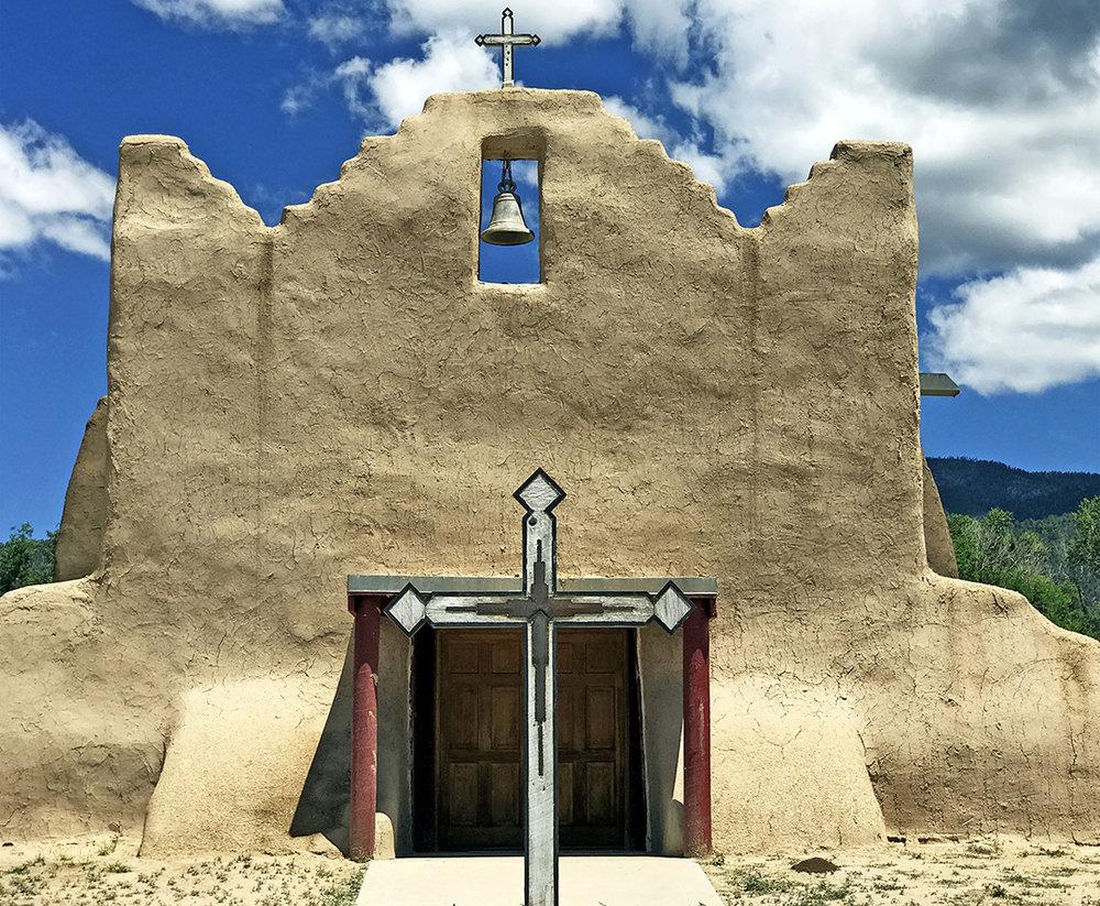 Church of San Lorenzo – Picuris, NM