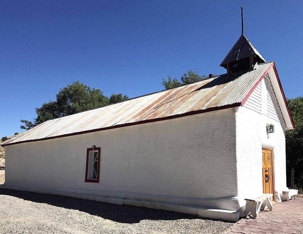 Sangre de Christo Chapel - Cuartelez, NM