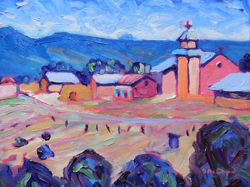 Truchas Village