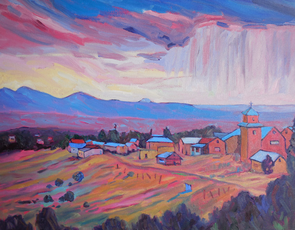 Sally Delap-John - Plein air oil paintings87 County Rd 75, Truchas | 505.689.2636sdjtaffy@aol.com | www.sallydelap-john.com