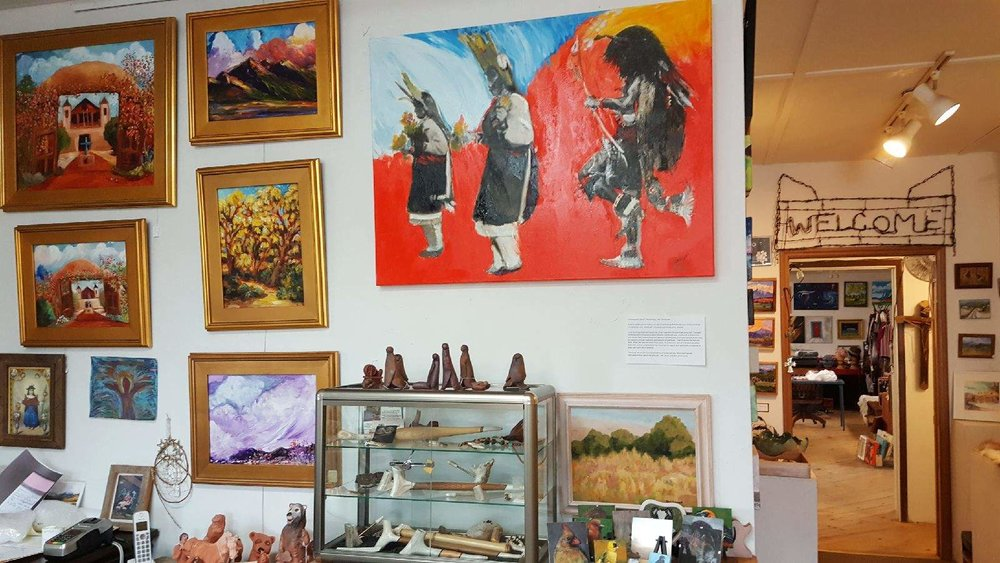High Road Art Gallery - A varied and large collection of local art1642 State Rd 76, Truchas | 505.689.2689hrartists@gmail.com