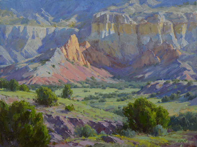 Chris Morel   Across the Valley, Ghost Ranch NM