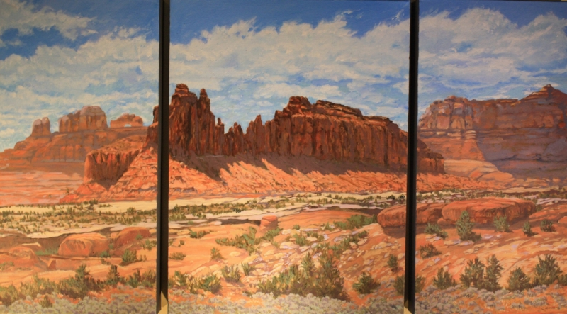 Slick Rock   Oil on Canvas