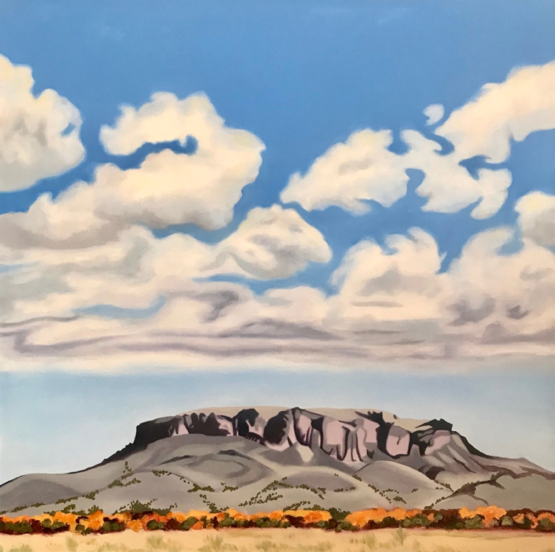 Black Mesa   Oil on Canvas