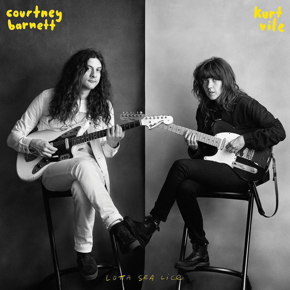 Capa de Courtney Barnett & Kurt Vile - Lotta Sea Lice