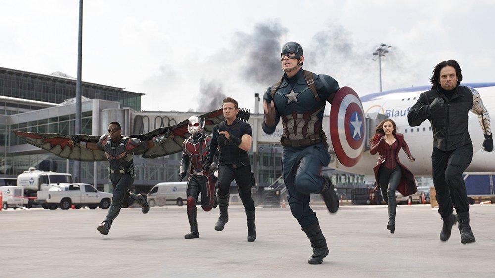 Capitão América: Guerra Civil - 1