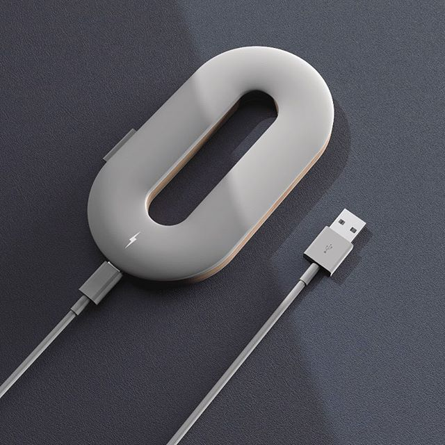 🔋For this week's @renderweekly challenge I decided to go for a simple but functional shape - an inductive charger, also functioning as a stand for your mobile device 📱 . . .  #inductive#charger#powerbank#rendering#renderweekly#challenge#renderoftheday#weeklydesignchallenge#industrialdesign#productdesign#keyshot#keyshotrender#rhino#rhino3d#photoshop#render#digital#cad#simple#functional#shape#wood#plastic#usb#cable#shadows#3d#textures#design#tr