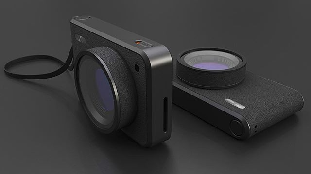 modern meets retro - a simple camera 📷 for this week's #renderweekly challenge, combining contemporary design and classical elements (zoom in for more details) . . . #simple#camera#metal#leather#retro#rendering#renderweekly#renderoftheday#weeklydesignchallenge#industrialdesign#productdesign#keyshot#keyshotrender#rhino#rhino3d#photoshop#render#digital#cad#details#texture#design#tr