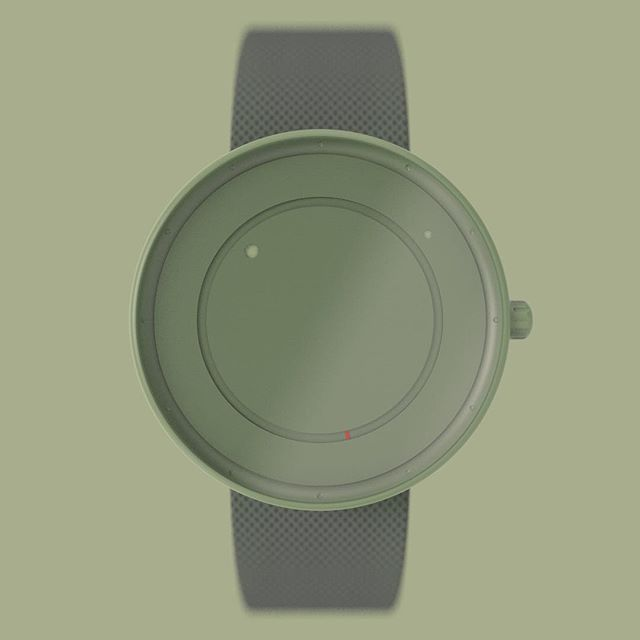didn't have much time this week (again 🤦🏼‍♂️), but still wanted to take part in the #renderweekly challenge, so I decided to do a simple watch and a super basic rendering @renderweekly . . . #simple#modern#minimalistic#watch#green#tones#metal#mesh#rendering#renderweekly##challenge#renderoftheday#weeklydesignchallenge#industrialdesign#productdesign#keyshot#keyshotrender#rhino#rhino3d#cad#software