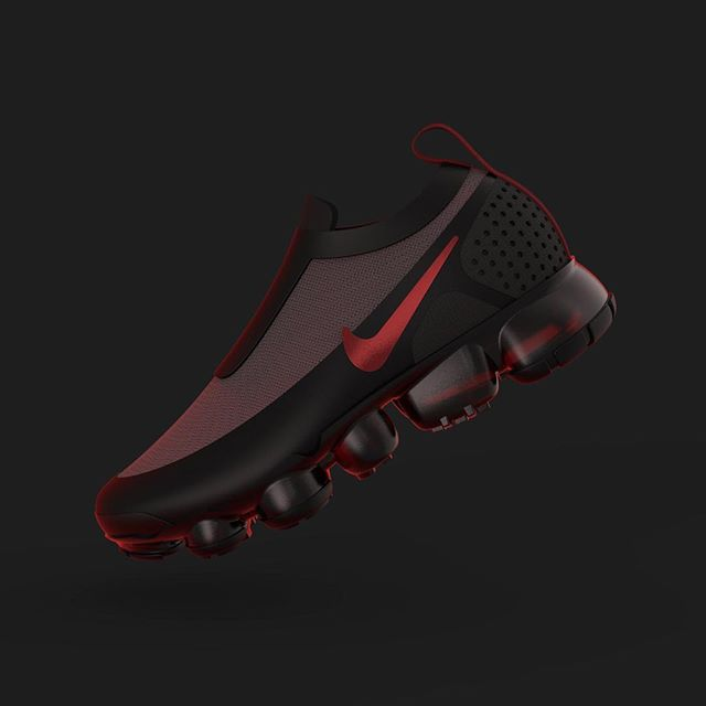 not my design, but a Nike Vapormax from @Sam_whit_design for this week's @renderweekly challenge - more a small exercise than a serious submission (the others are just too good this week) ;) . . . #nike#vapormax#shoe#rendering#renderweekly#challenge#renderoftheday#weeklydesignchallenge#industrialdesign#productdesign#keyshot#keyshotrender#rhino#rhino3d#photoshop#render#digital#cad#red#grey#texture#plastic#fabric#rubber#transparent#3d#textures#composition#design#tr