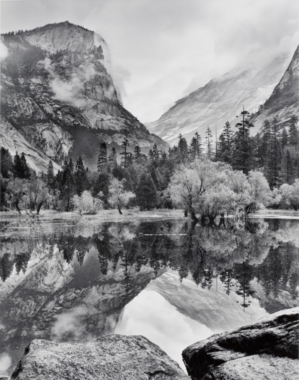 Mirror Lake, Yosemite National Park, CA, 1968