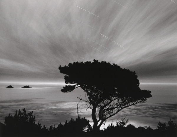 Moon/Stars/Clouds, CA, 2001