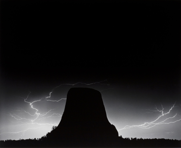Lightning - Devils Tower, WY, 1988