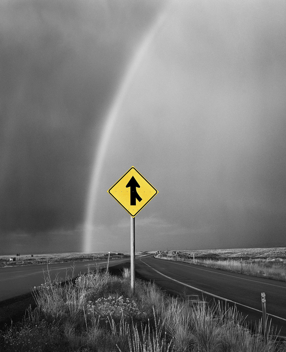 Rainbow & Arrow, Utah, 1979/2015