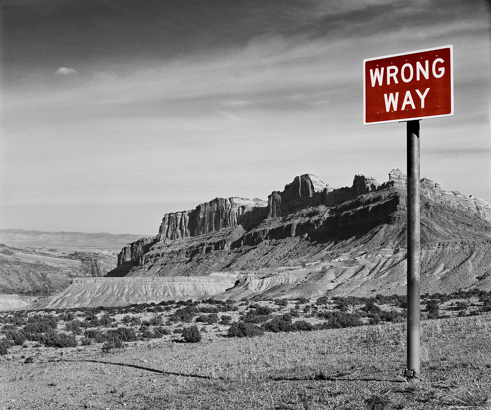 Wrong Way, Colorado, 1994/2015