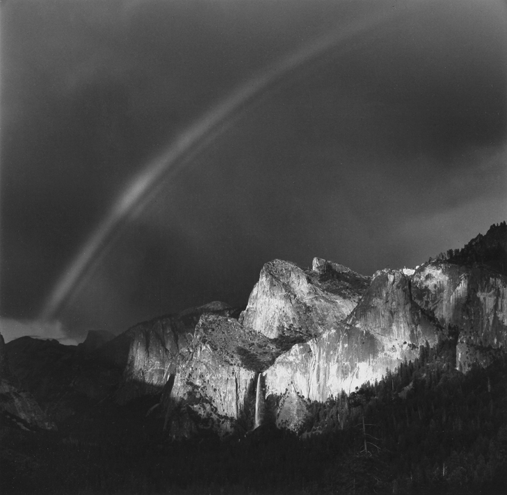 Rainbow and Bridalveil Fall, Yosemite National Park, CA, 1987