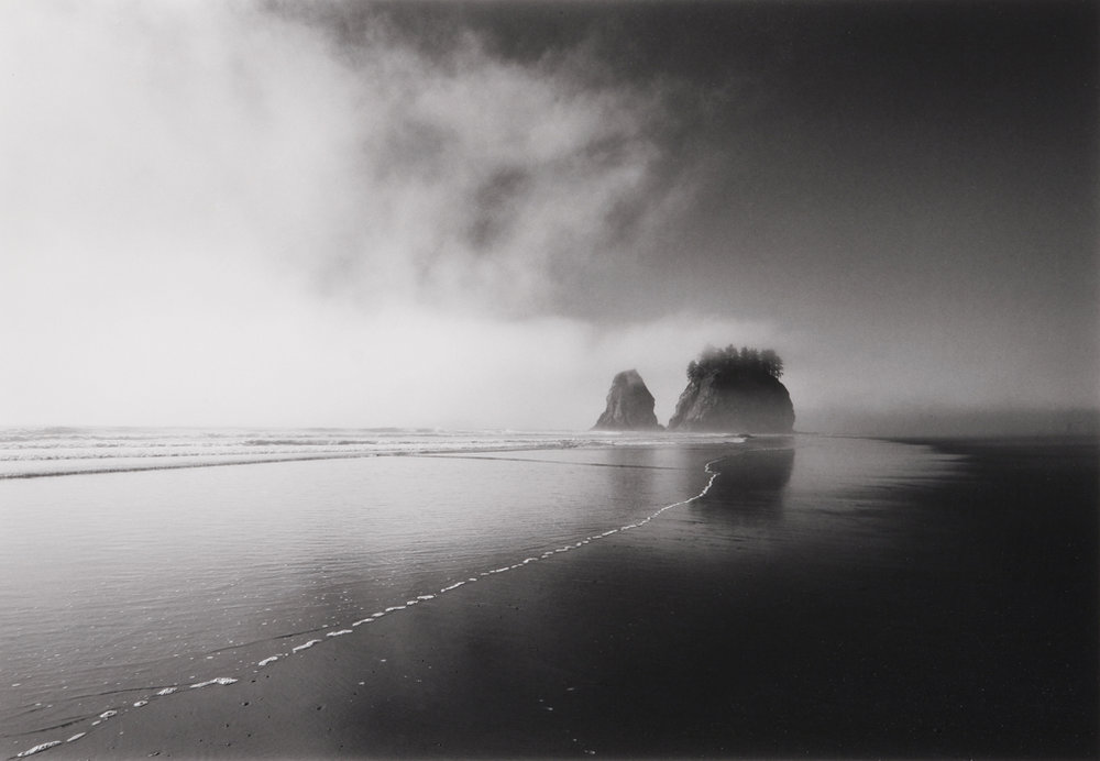 Fog and Sea Stacks, WA, 1999