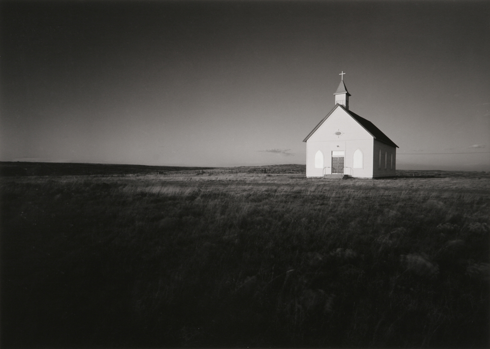 Church at Nara Visa, NM, 1984