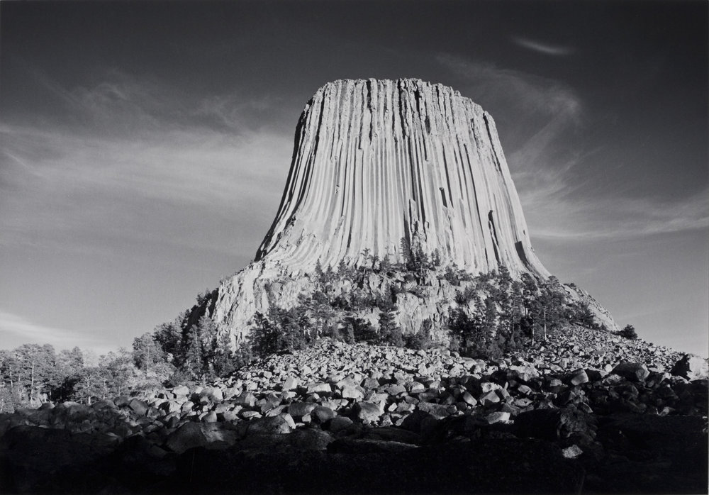 Devils Tower, WY, 1987