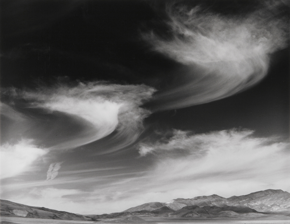 Mare's Tail Clouds, NV, 2004