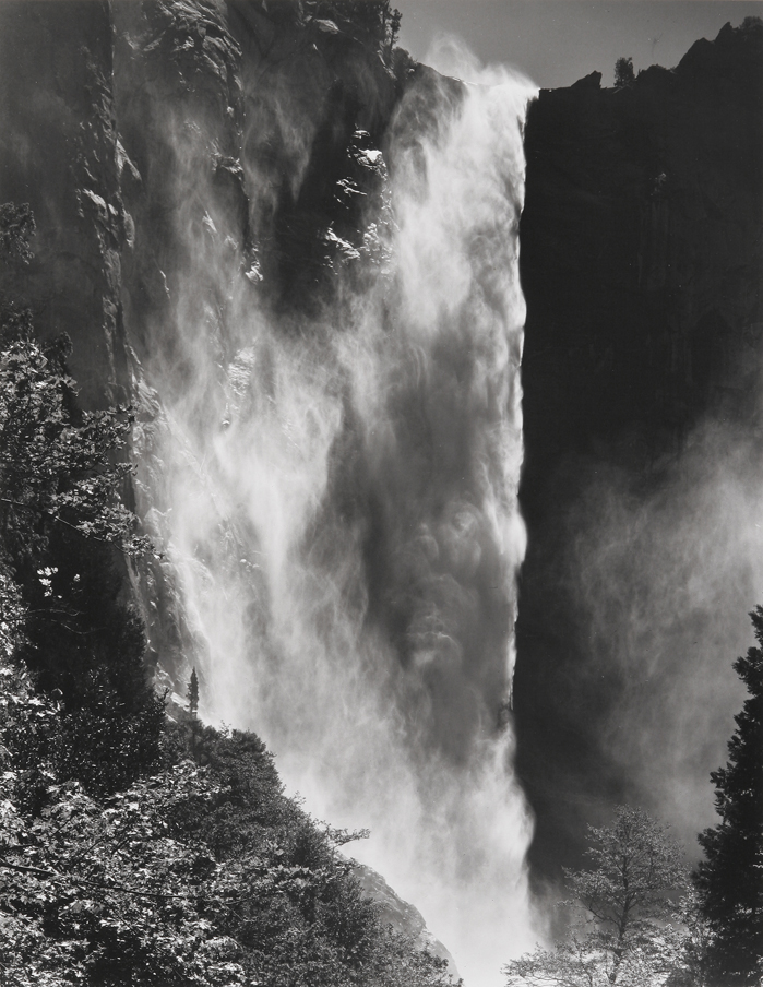 Bridalveil Fall, Yosemite National Park, CA, 1974