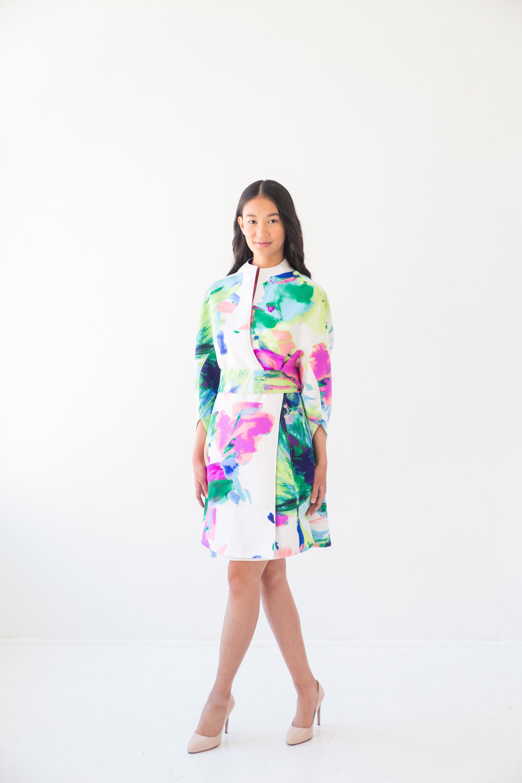Jacket Dress Kimono Style