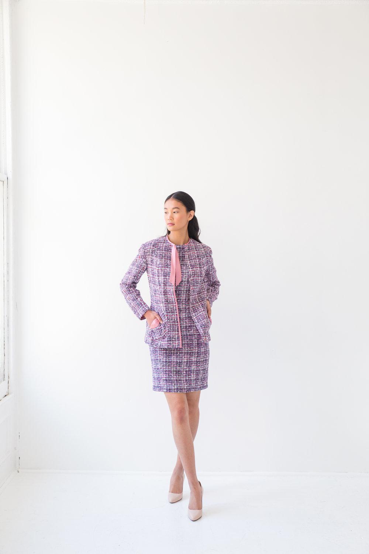 Tweeded Jacket and Dress
