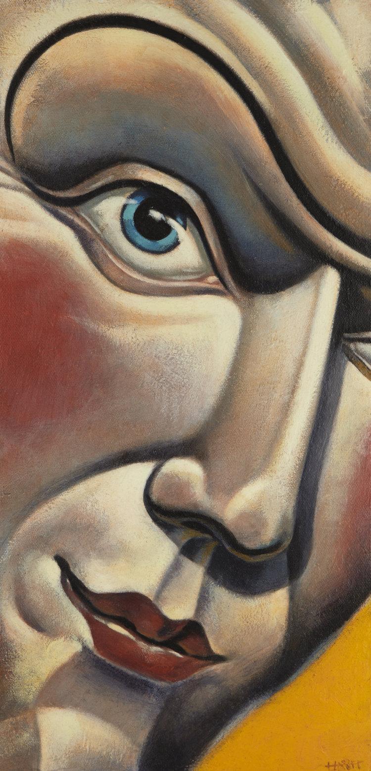Blush by Kevin Hauff (H 40.6cm x W 20.5cm)