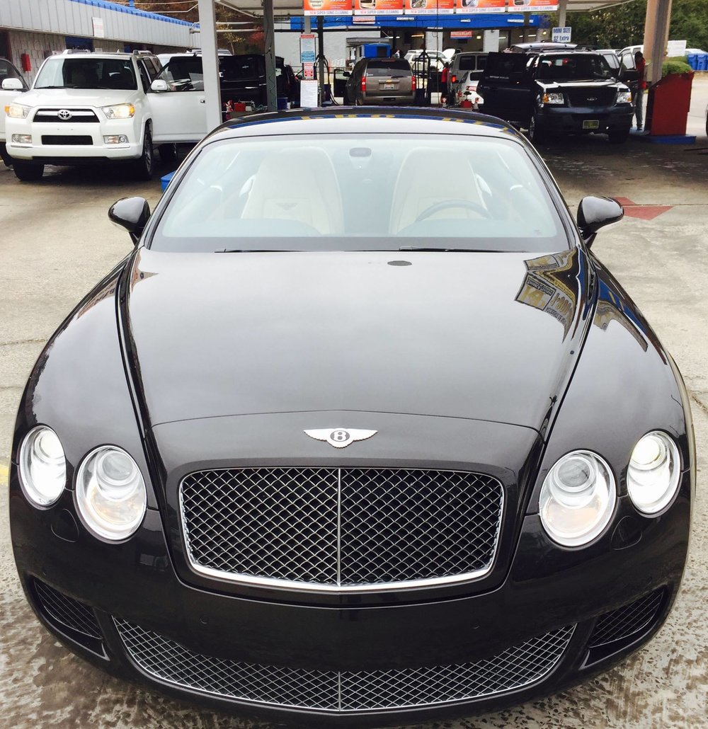 Car wash bentley