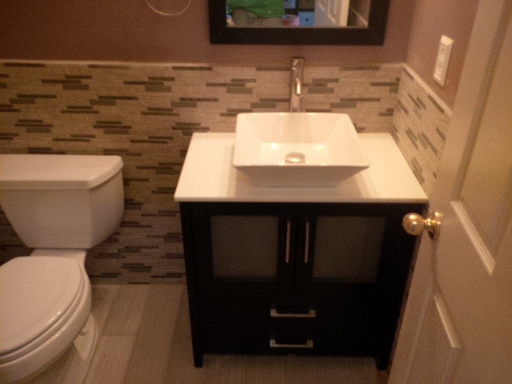 Bathroom #1 After