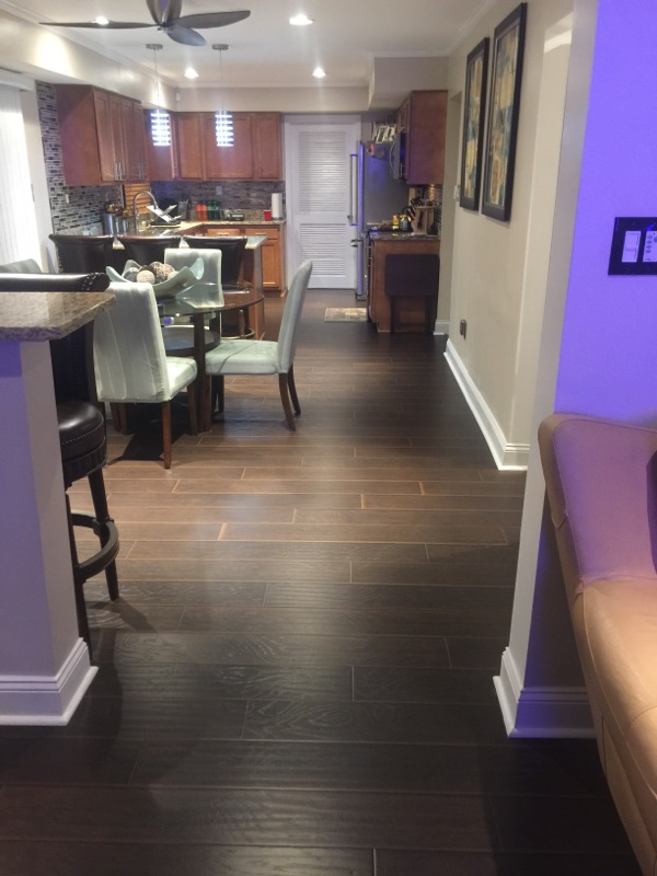 """ Everything turned out above and beyond what we expected! Our floors are stunning and we get so many compliments on them. The taller floor molding, paint and crown molding adds such a richness to our home. The work was completed in a timely manner and there were no corners cut. We are totally satisfied and would recommend RMB Construction to everyone!"" L. DeGroat"