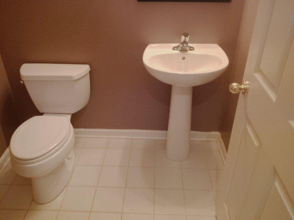 Bathroom #1 Before