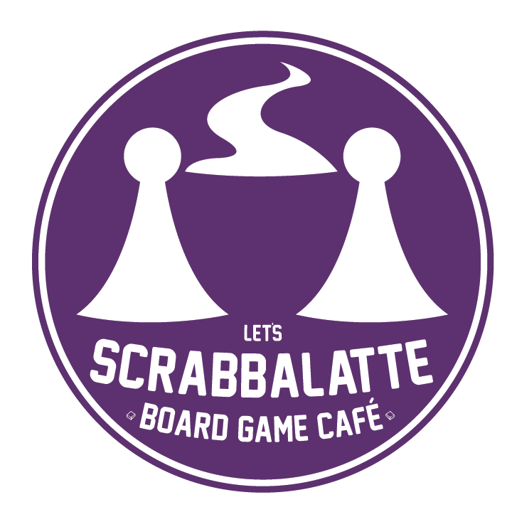 Let's Scrabbalatte Board Game Café