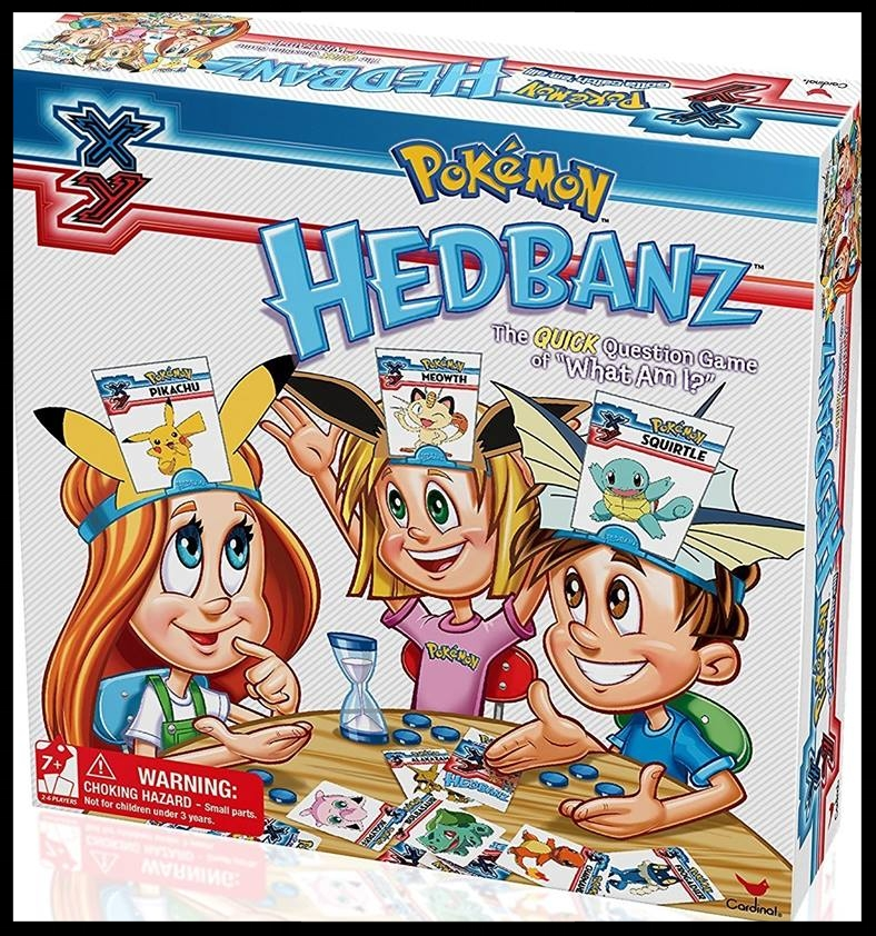 CHILDREN'S GAME FEATURE: - Pokémon HEDBANZ