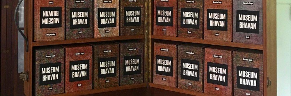 "Dayanita Singh's multi-volume ""book-object,"" 'Museum Bhavan,' Image: Tate Modern Books."