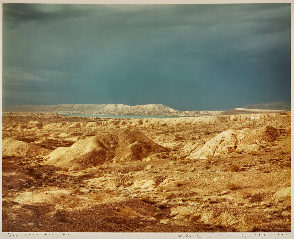 "Lot 35 Richard Misrach, Berkeley, CA    Lake Mead #1 , Chromogenic Print, 1986/1997, 20"" x 24"" Signed, recto Donated by Marcia Rosenthal Edition 19/25 $3,000 - 6,000"