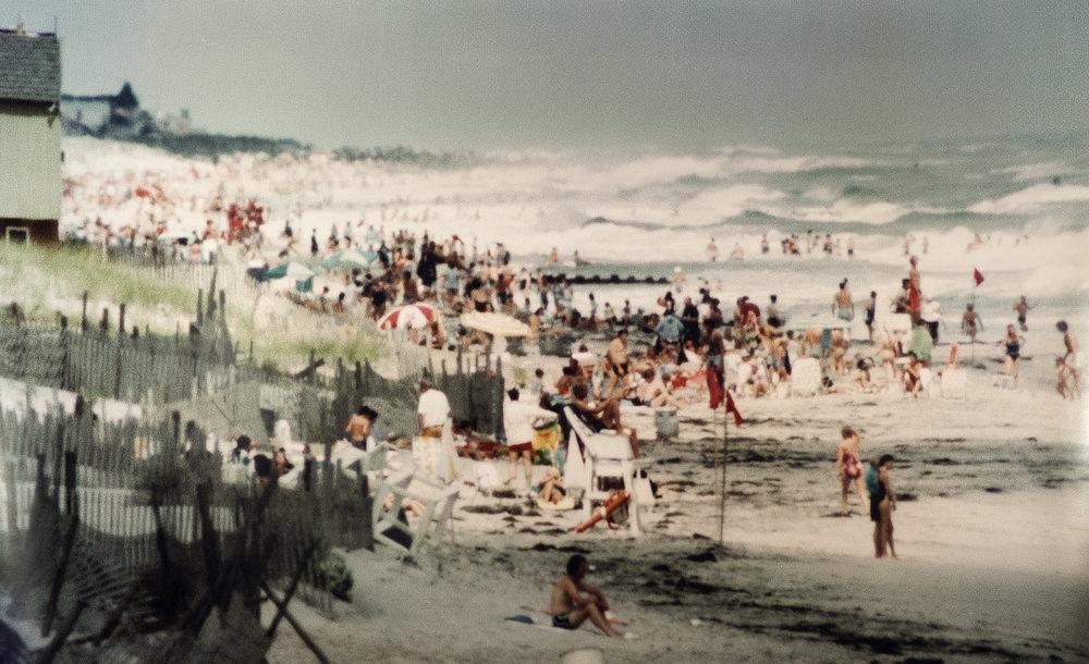 "Lot 15 Harold Corsini, 1919 - 2008, New York, NY    Untitled, Coney Island , Chromogenic Print/C-Print, c. 1950, 16"" x 20"" Donated by Michael Sciarretti $400 - 700"